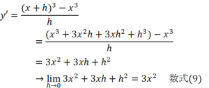 微分の数式4