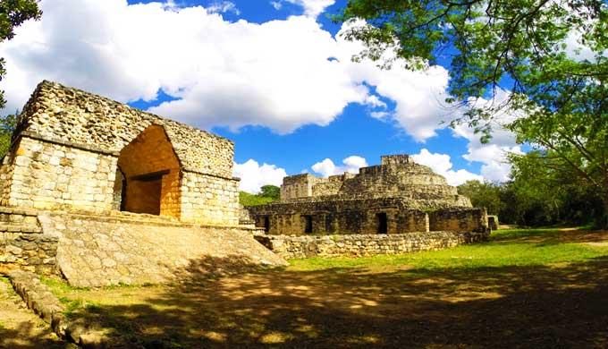 メキシコの遺跡