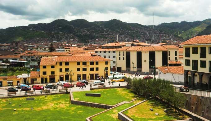 ペルーの街並み