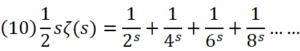 ゼータ関数の例