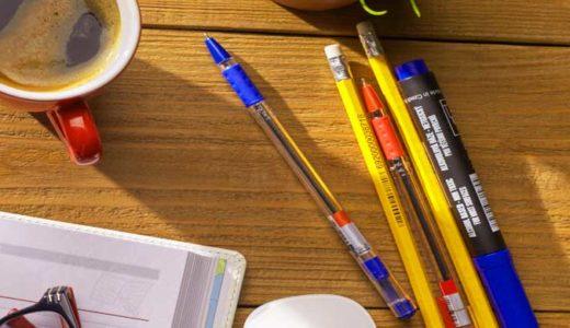「ペンと消しゴムの歴史」イギリス生まれの鉛筆。パンと代えられたゴム