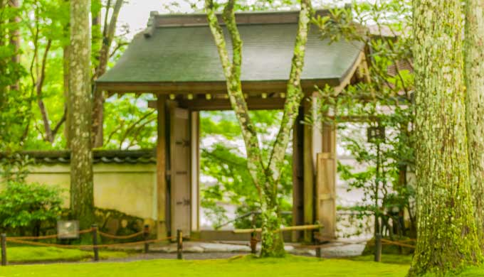 天台宗の門