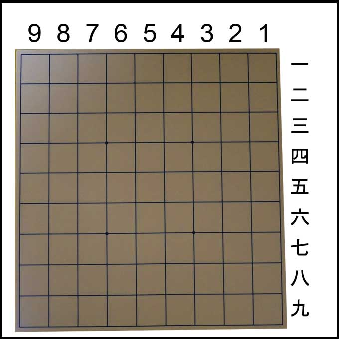 将棋盤の棋譜用