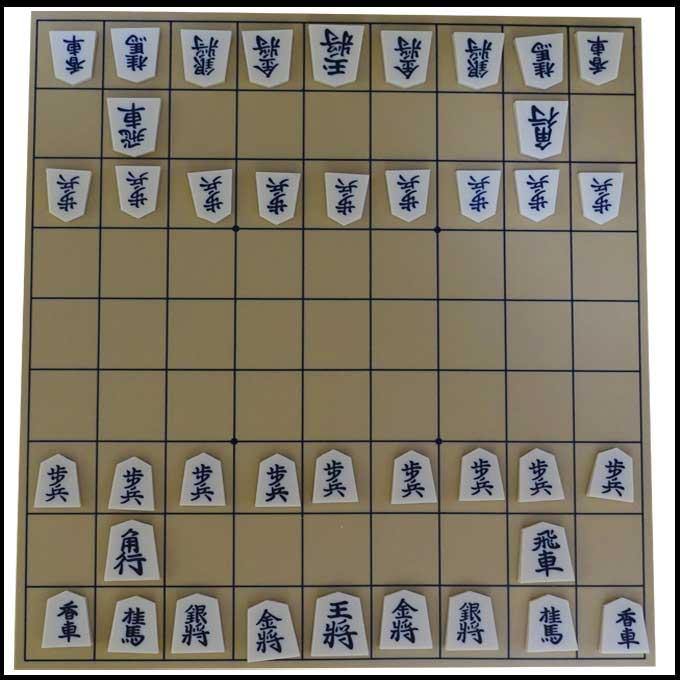 将棋の配置