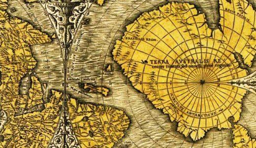 ピリ・レイスの地図、オロンテウスの地図「南極大陸のオーパーツ」