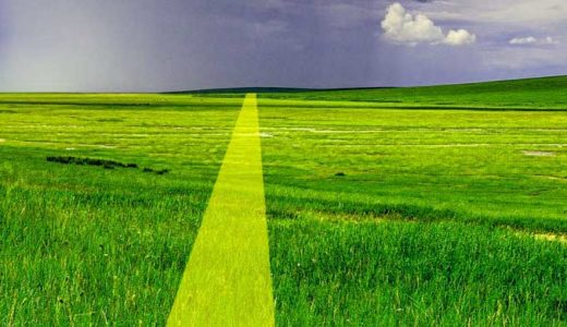 「レイライン」直線の意味。未知のエネルギーの通り道か、交易路か